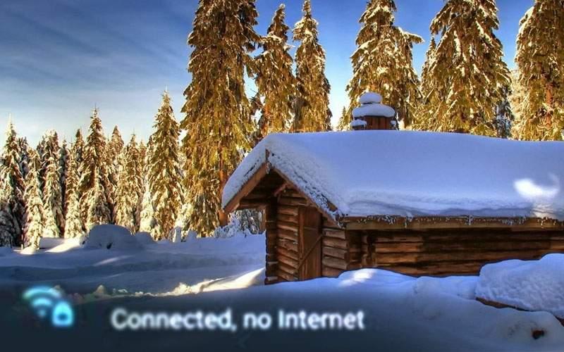 Revelion ratat pentru zeci de români, după ce la cabana unde stăteau a picat wifi-ul