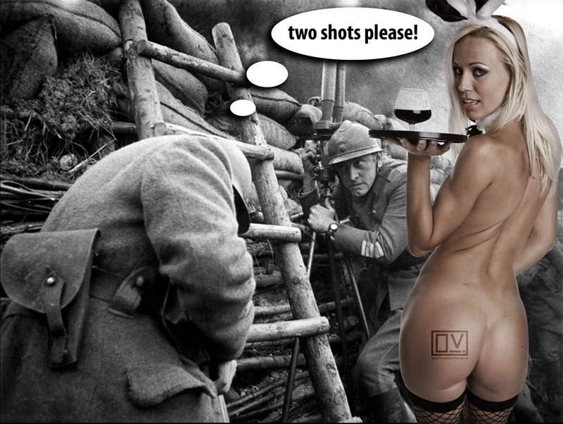 Two shots please