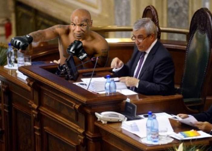 """Mike Tyson, asaltat de senatori: """"Toţi mi-au cerut sfaturi despre cum să se descurce la pârnaie"""""""