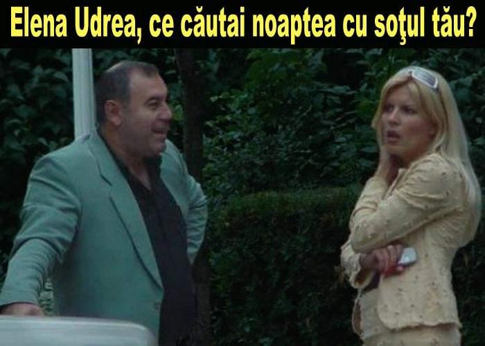 Elena Udrea, surprinsă de paparazzi în compania soţului ei