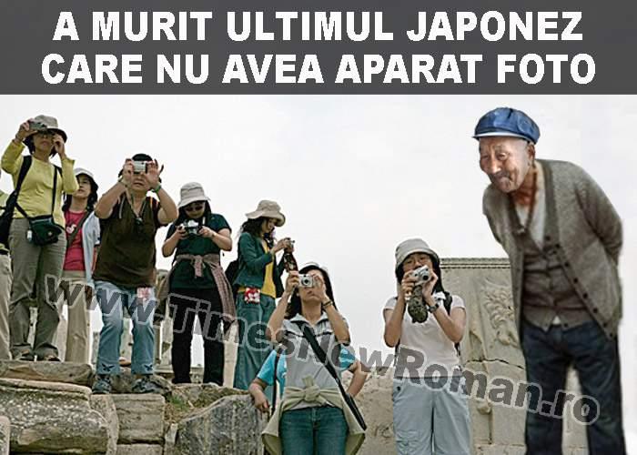 A murit singurul japonez care nu avea aparat de fotografiat
