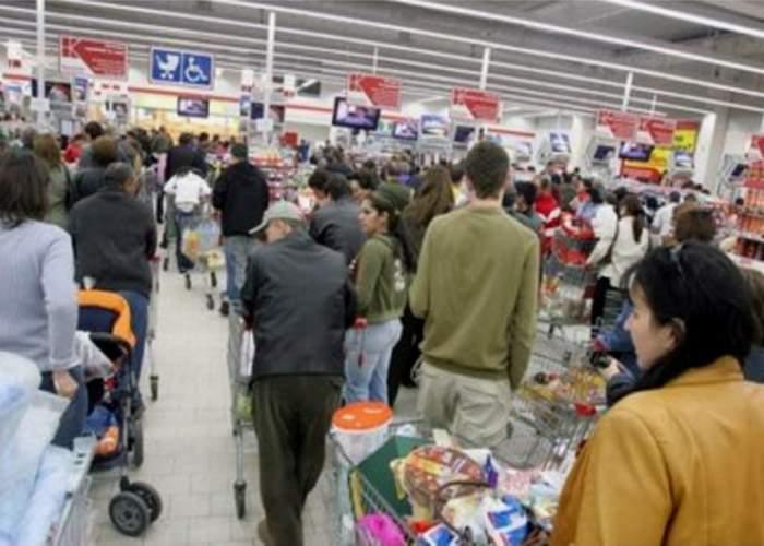 Deşi mai sunt doar 10 zile, un român excentric nu şi-a făcut încă cumpărăturile pentru Paşti!