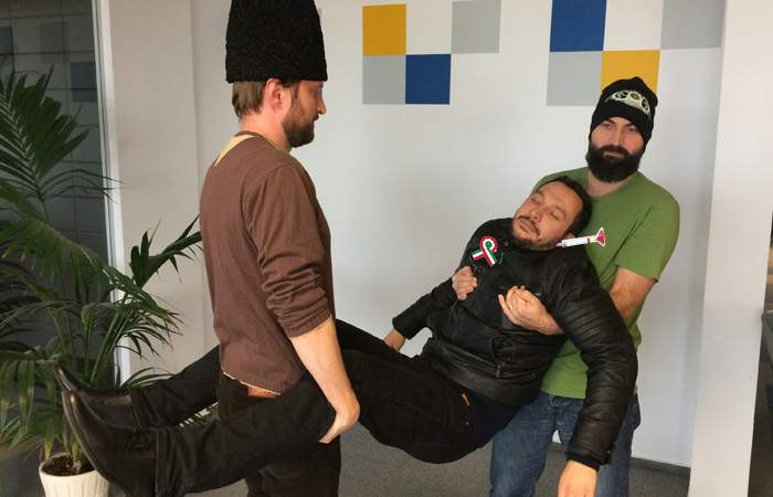 Așa da! Un ungur care se plimba liber prin București, tranchilizat și dus înapoi în ungurime