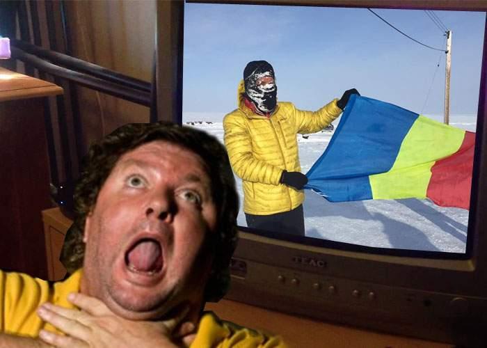 Sportul face victime! Un român s-a înecat cu jumări în timp ce aplauda victoria lui Uşeriu la ultramaratonul arctic