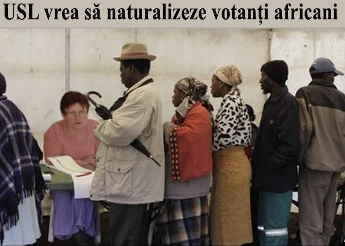 USL vrea să naturalizeze 5 milioane de votanţi din Africa pentru referendum