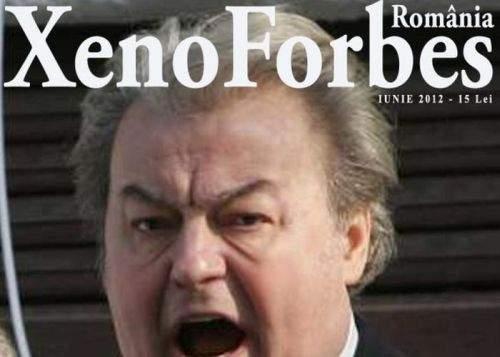 Vadim, pe coperta primului număr al revistei XenoForbes