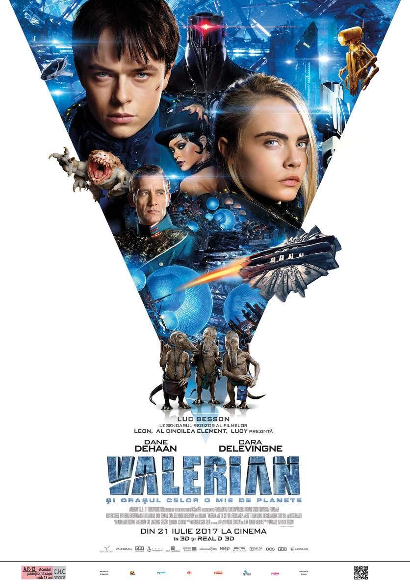 Valerian and the City of a Thousand Planets 3D (2017) – De-o audiență generală