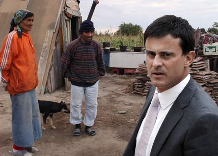 Ministrul de interne francez acuză: România inundă piaţa cu romi de calitate îndoielnică