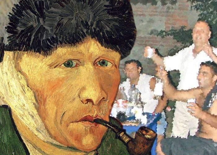 Nu era nebun! Van Gogh şi-a tăiat urechea fiindcă vecinii lui români nu mai terminau cu manelele