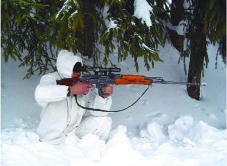 Vânător de munte, împuşcat de colegii lui după ce a fost confundat cu un munte