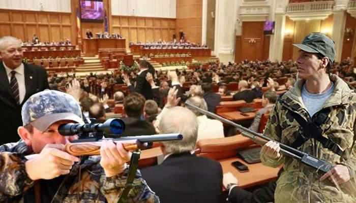 Scăpare în lege. Parlamentarii nu pot fi arestaţi, dar pot fi împuşcaţi de alegătorii din colegiu