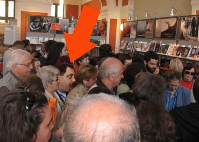 Poza zilei! Apariţie inexplicablă la Bookfest 2013: Marian Vanghelie!