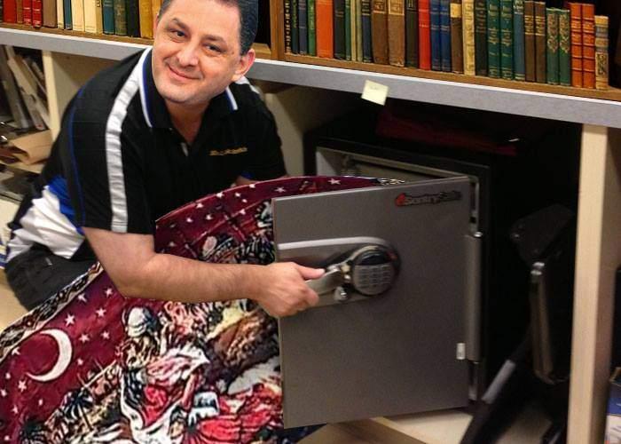 """Un nou caz Vâlcov! Vanghelie a ascuns în mai multe seifuri sute de carpete cu """"Răpirea din serai"""""""