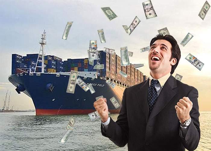 SURSE: Un vapor plin cu bani se îndreaptă spre România și va ajunge în trei zile