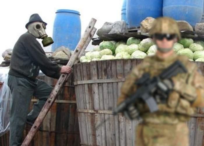 Scandal la un exerciţiu NATO! România, acuzată că butoiul cu varză încalcă Convenţia privind armele chimice