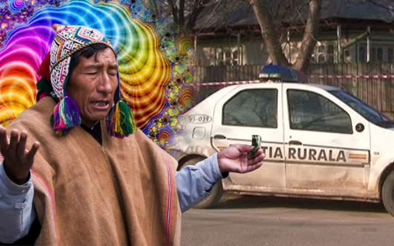 Un şaman din Vaslui şi-a băgat vecinul în transă pentru o damigeană de ayahuasca