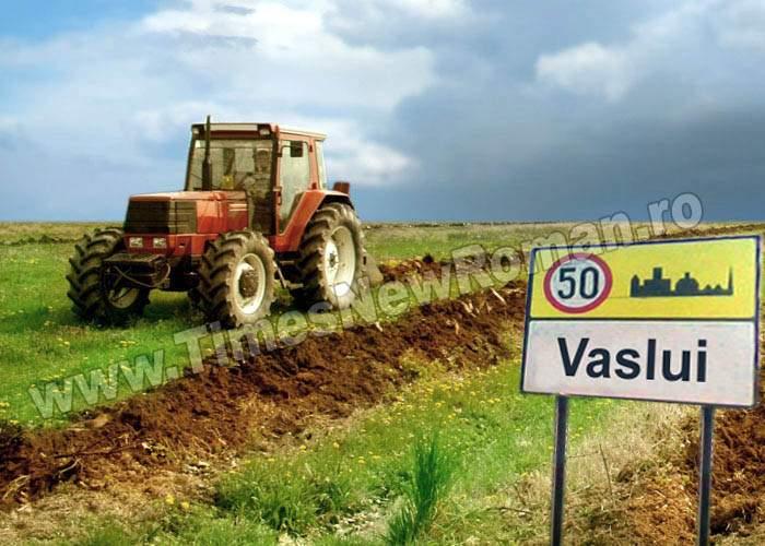Treizeci de localități din județul Vaslui vor fi redate agriculturii