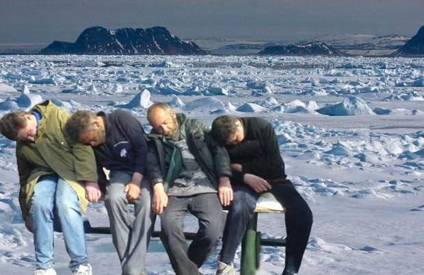 Milioane de vasluieni au emigrat la Polul Nord, de teamă să nu fie puşi la muncă de Iohannis