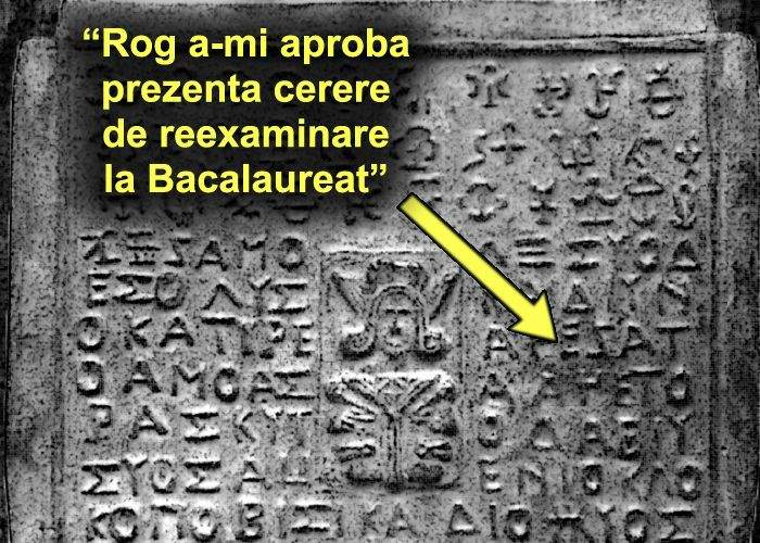 Istoricii români au descoperit înscrieri la Bac de pe vremea lui Burebista
