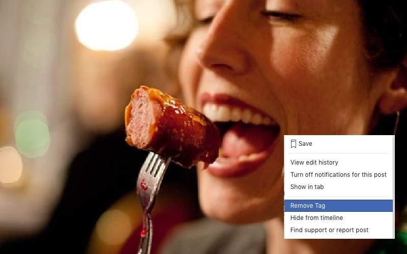 Veganii dau remove tag la toate pozele în care se îndoapă cu porc de sărbători