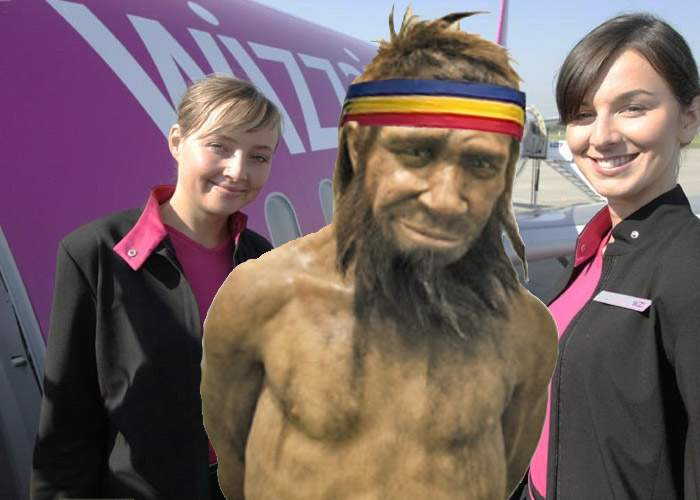 Veriga lipsă între maimuţă şi om, descoperită! Aplauda la aterizare în Wizz Air