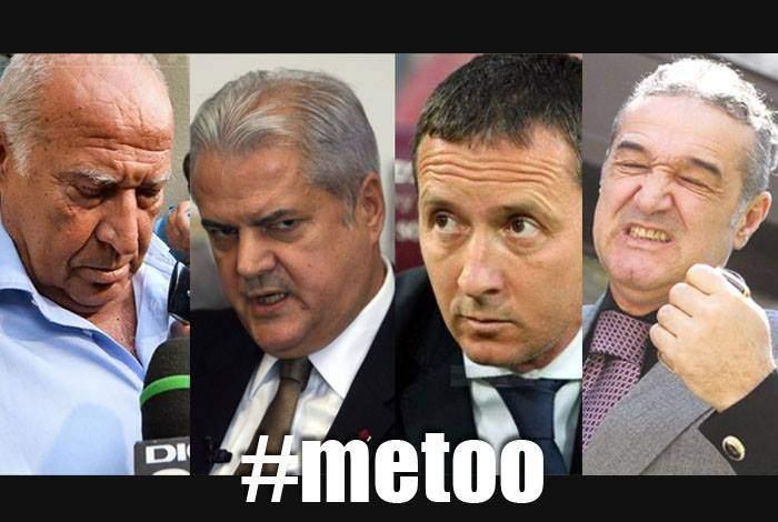 #metoo! Noi nume de victime ale abuzului sexual ies la iveală: Voiculescu, Năstase, Becali sau Meme Stoica