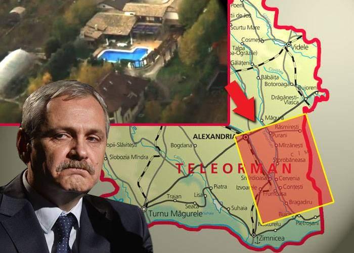 E oficial! Vila lui Dragnea a depășit Alexandria ca suprafață și se apropie amenințător de Zimnicea