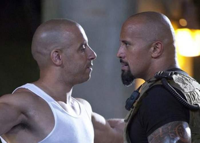 """Veşti bune pentru fani! Vin Diesel şi The Rock se vor căsători în """"Fast and Furious 7"""""""