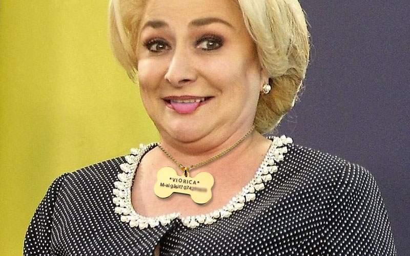 Dăncilă are un medalion cu numărul de telefon al lui Dragnea, în caz că se pierde