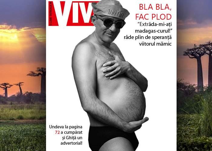 Aflând că Udrea a scăpat de extrădare după ce-a născut, Radu Mazăre a anunțat că este gravid cu gemeni