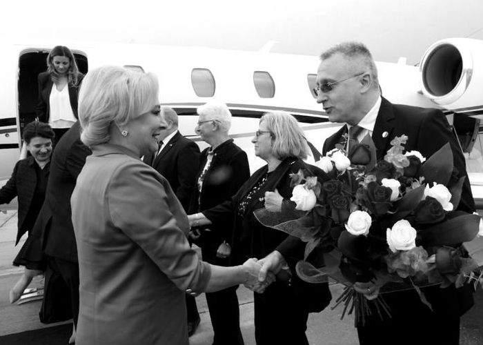 Premierul Viorica Dăncilă a efectuat o vizită oficială în statul Israel, împreună cu personalităţi politice de prim rang