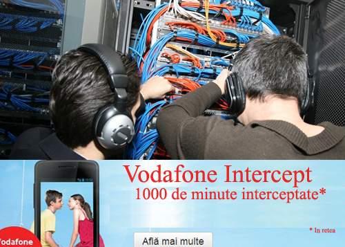 Vodafone lansează o cartelă pre-pay cu 1000 minute de interceptări pe lună