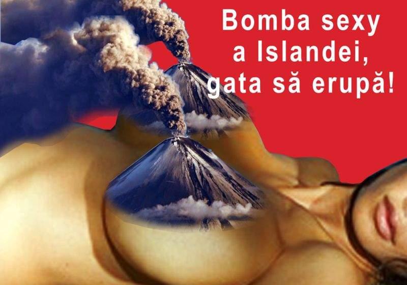 Bomba sexy a Islandei ameninţă cu noi erupţii