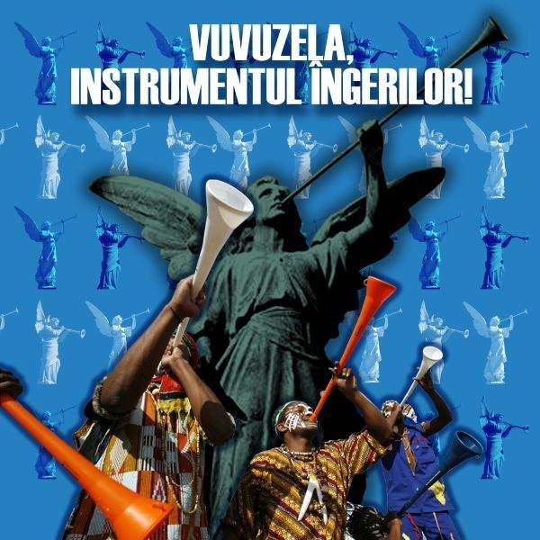 """Interviu cu dirijorul unui cor de vuvuzele: """"Vuvuzela este instrumentul îngerilor"""""""