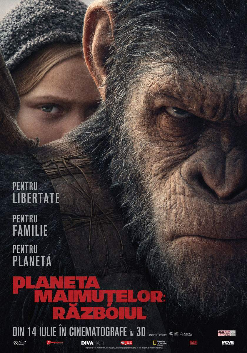 War for the Planet of the Apes 3D (2017) – Ave Caesar!
