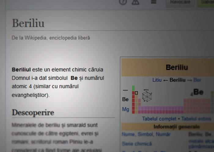 BOR aduce la zi Wikipedia în română! 10 exemple de definiţii ortodoxe