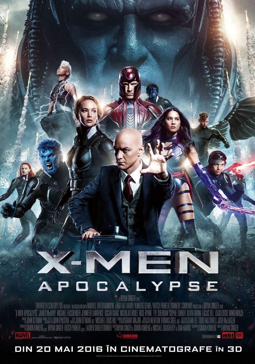 X-Men: Apocalypse 3D (2016) – M-a auzit dom' profesor X!