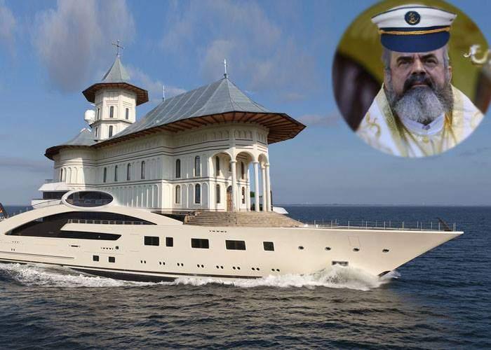 Turiștii din Eforie se plâng că Patriarhul și-a acostat iahtul imens și ține umbră la toată plaja
