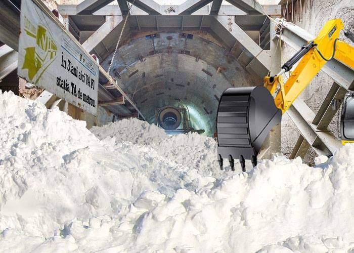Zăpada va fi băgată în tunelurile de metrou din Drumul Taberei, că oricum nu le folosește nimeni