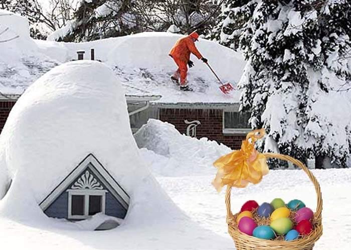 Vom avea zăpadă de Paşti? Află ce spun meteorologii!