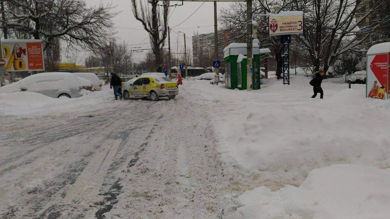15 lucruri despre zăpada masivă căzută în București