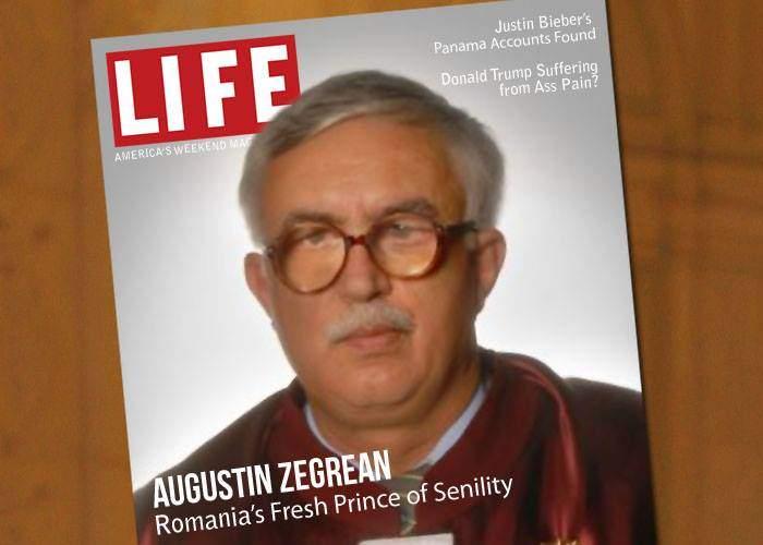 Augustin Zegrean de la CCR, declarat de revista LIFE cel mai senil om din România