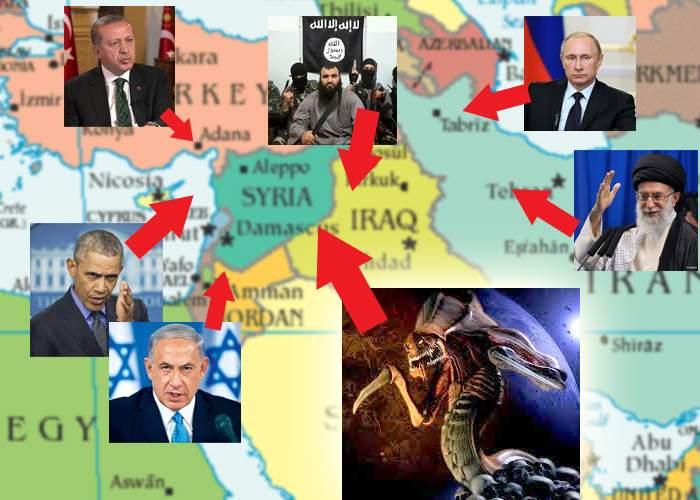 Situaţia din Orientul Mijlociu se complică din ce în ce mai tare! Au apărut şi zergii