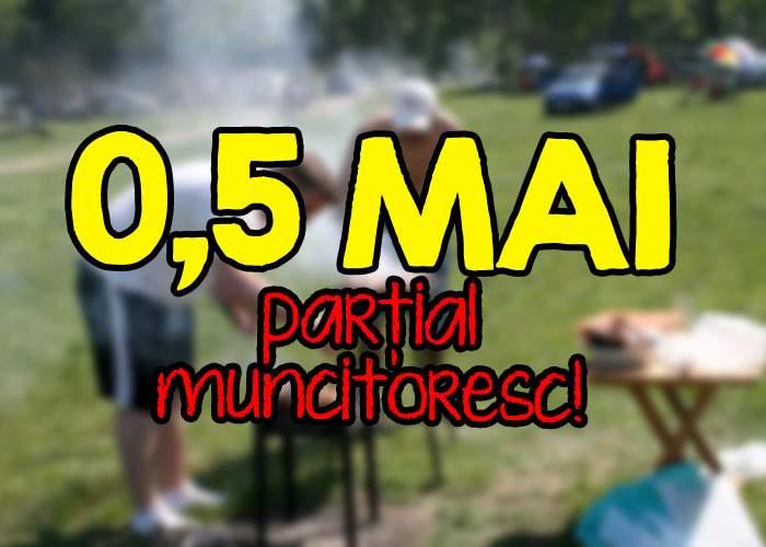 Din cauza crizei, mulţi români sărbătoresc azi doar 0,5 Mai