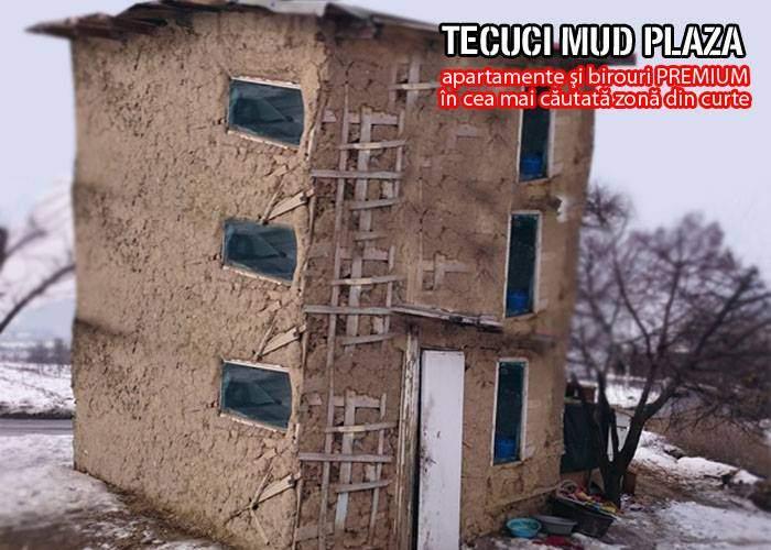 La Tecuci va începe construcția celui mai mare zgârie nori din chirpici, înalt de două etaje