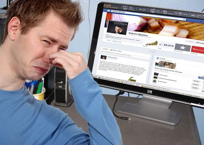 Gafă! S-a împrietenit cu Zgonea pe Facebook şi a început să-i miroase a brânză şi picioare în casă