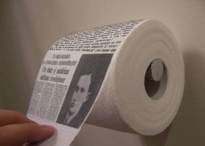 Presa tipărită încearcă să revină pe piaţă! Ziare sub formă de sul, pe hârtie moale şi parfumată