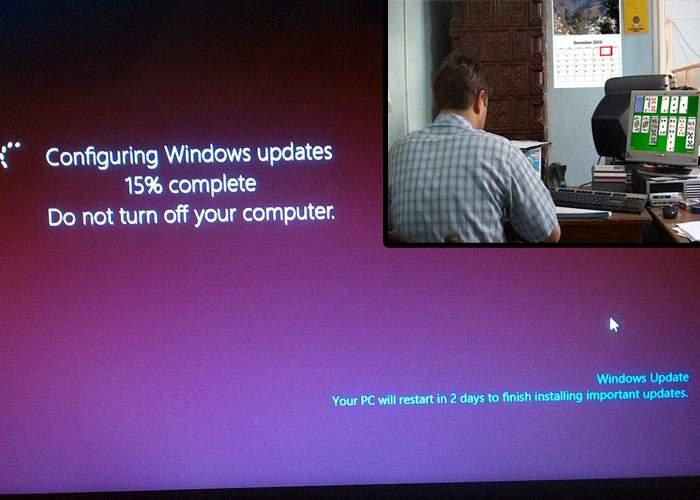 Surse din Guvern: bugetarii vor primi o zi liberă la fiecare update de Windows