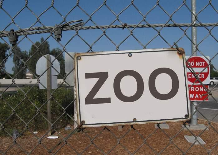 """Respect! Sârbii au montat deja pe gardul construit de unguri la graniţă o plăcuţă cu """"Zoo Hungaria"""""""