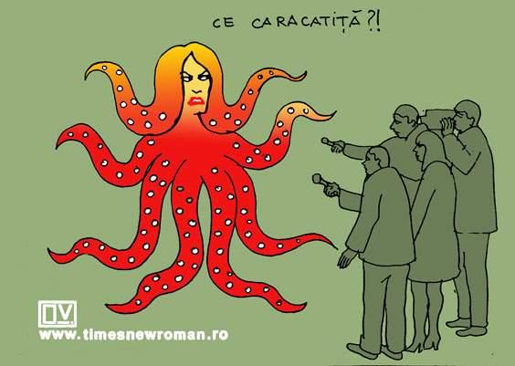 Caracatița lui Firea